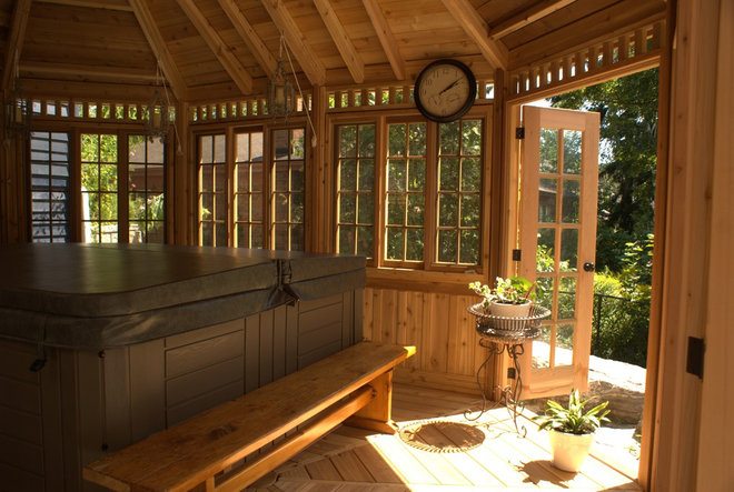 Traditional Porch by Summerwood Products
