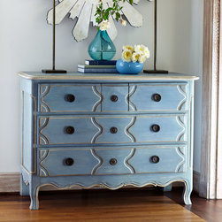 Louis XV Five Drawer Chest -
