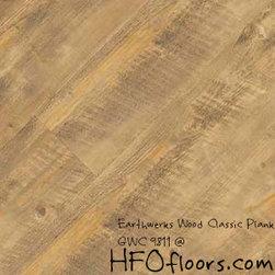 Earthwerks Wood Classic Plank - Earthwerks Wood Classic Plank, GWC 9811. Available at HFOfloors.com.