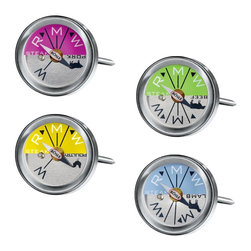 Rosle Dual-Functioning Mini Grill and Oven Thermometers - I'm a firm believer in owning several meat thermometers. This may or may not have anything to do with the fact that I'm always losing them — and then finding them again. These are colorful, fun and just the right price.