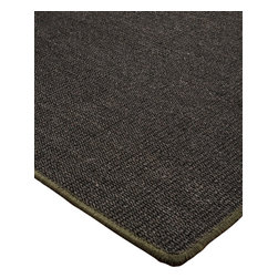 """Natural Area Rugs - """"Encore"""" Sisal Rug, 100% Natural Fiber - Free & Same Day Shipping within Continental USA. International Shipping Available (Contact us for a quote). All natural sisal rug handcrafted by Artisan rug maker. Naturally durable and anti-static, this earth friendly rug is great for high traffic areas. Enjoy this sisal rug with serged cotton border and non-slip latex backing along with its stylish and contemporary look. Variations are part of the natural beauty of natural fiber. We recommend a rug pad as it will protect not only your rug but your hardwood floor as well."""