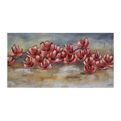 Ren-Wil OL857 Rising Dawn Horizontal Canvas Wall Art by Liza Stones