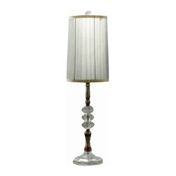 Acrylic Base Modern Tall Table Lamps for Bedroom - Acrylic Base Modern Tall Table Lamps for Bedroom