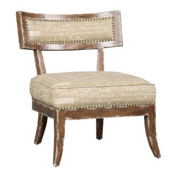 Hooker Furniture - Hooker Furniture Brookhaven Upholstered Accent Side Chair in Cherry - Hooker Furniture - Accent Chairs - 300350017 - Live better with great accent chairs from Hooker Furniture. Each of the decorator chairs is lovingly created with unique design personality. Style and comfort are uppermost considerations, with each chair crafted as a work of art, and a comfortable oasis for your home.
