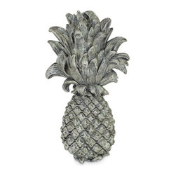 Craft-Tex/Ladybug - Pineapple Wall Plaque - 6815B - Shop for Wall Art from Hayneedle.com! Sure to to add inviting warmth to any outdoor or indoor setting the Pineapple Wall Plaque is crafted from a molded resin and crushed marble mix a durable material that is guaranteed not to absorb water or crack under extreme temperature changes. Choose from a variety of finishes. Shown in Moss. A must-have for any home this traditional symbol of hospitality will extend a welcome to all your guests. About Craft-Tex/LadybugCraft-Tex and Ladybug are special product line divisions of Concept Plastics Inc. Concept Plastics is America's premier maker of fine furniture and decorative resin castings. Established in 1970 in High Point N.C. Concept Plastics uses extremely accurate molding techniques exceptional craftsmanship in casting and artisan skills in hand finishing. The Craft-Tex and Ladybug lines offer a wide variety of products for the home office and garden including birdbaths fountains statues planters bookends and decorative wall decor.