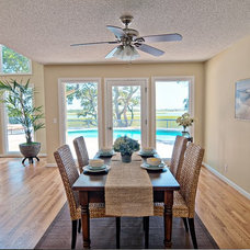 Tropical Dining Room by Just Perfect! Home Staging + More