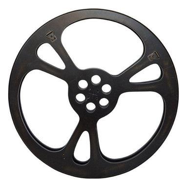 Small Decorative Film Reel - $285 Est. Retail - $228 on Chairish.com -