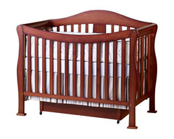 Da Vinci - DaVinci Parker 3 Piece Convertible Crib Nursery Set w/ Toddler Rails in Cherry - Da Vinci - Baby Crib Sets - K5101CK5152CK5155C3PcSet - DaVinci Parker 3 Piece Convertible Crib Nursery Set w/ Toddler Rails in Cherry