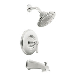 Moen - Moen TS3213 Rothbury Moentrol Chrome Tub/ Shower Trim - This Rothbury tub and shower trim from Moen offers a relaxed blend of vintage design and traditional elements that coordinates perfectly with both casual and luxurious decorating styles. This bathroom set comes in a chrome finish.