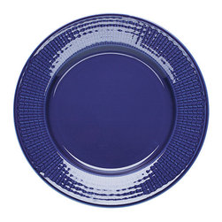 """iittala Swedish Grace Salad Plate 8.5"""" Sea - A design classic in six colours. This tableware still evokes the same emotions as when it was unveiled at the Stockholm Exhibition in 1930. Louise Adelborg succeeded in conveying the sensation of ears of wheat swaying in the summer breeze."""