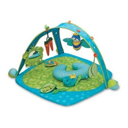 Boppy - Boppy Garden Patch Play Gym - The Boppy play gym is designed to support baby's natural development. The system creates a customized environment for baby by allowing toys to be perfectly placed.