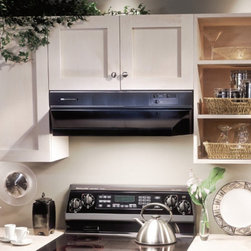 Broan-NuTone - Broan 48W in. 88000 Series Under Cabinet Range Hood - 884801 - Shop for Hoods and Accessories from Hayneedle.com! For power and convenience look no further than the durable Broan 48W in. 88000 Series Under Cabinet Range Hood. This simply styled hood is UL Listed and HVI Certified meaning its 360 CFM dual centrifugal blower delivers time and time again. It effectively eliminates unwanted smoke and kitchen odors before they become a bother. And it does it all quietly at just 5.5 sones. Operating this unit is easy with conveniently-located slide controls. The infinitely adjustable blower speed empowers you to find just the right setting every time you cook. Other features like Heat Sentry and memory give you even more control. Heat Sentry prevents unwanted kitchen pollutants and prolongs the life of the unit by automatically adjusting the hood to the highest speed level when it detects excessive heat and the memory feature lets you get right to cooking by remembering your last speed setting.Two incandescent lights with two lighting levels provide extra cook-top illumination when you need it. With ducted and non-ducted convertibility even installation is convenient. It installs as 3.25 x 10-in. with vertical or horizontal discharge or as a non-ducted recirculation unit.About Broan-NuTone Ventilation:Broan-NuTone has been leading the industry since 1932 in producing innovative ventilation products and built-in convenience products all backed by superior customer service. Today they're headquartered in Hartford Wisconsin employing more than 3200 people in eight countries. They've become North America's largest producer of residential ventilation products and the industry leader for range hoods ventilation fans and heater/fan/light combination units. They are proud that more than 80 percent of their products sold in the United States are designed and manufactured in the U.S. with U.S. and imported parts. Broan-NuTone is dedicated to providing revolutionary products to improve the indoor environment of your home in ways that also help preserve the outdoor environment.