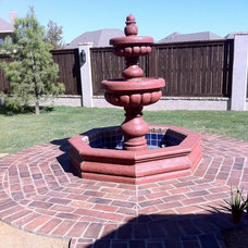 Outdoor Fountains And Ponds by Rustico Tile and Stone