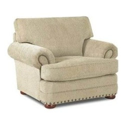 Custom Express - Tidwell Chair - Available in an easy to maintain chenille fabric, our Tidwell chair offers comfort and quality at a great price.