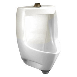 American Standard - American Standard 6571.014.020 White 1.0 GPF Urinal - This low-consumption urinal uses just 1.0 gallon per flush. Features include a flushing rim and a front-jetted, blowout-type flush action for effectiveness. Its clean, functional design with a 21? extended lip make it ideal for a variety of commercial applications.