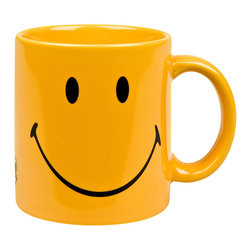 Waechtersbach - Waechtersbach Smiley Face Mugs (Set of 4) - Entertain your guests with a set of smiley face mugs from Waechtersbach Casual dinnerware set includes four 12-ounce mugs that measure 3.75 inches in diameter Smiley face mugs are sure to brighten any kitchen