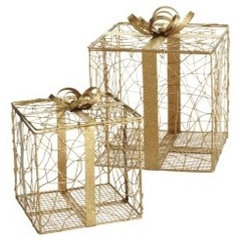 modern holiday decorations by Pier 1 Imports