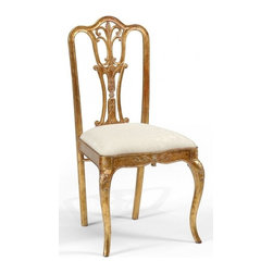 Jonathan Charles - New Jonathan Charles Dining Chair Gold Gold - Product Details
