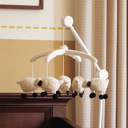 Lamb Mobile - This mobile is simple and sweet. Plus, it's a good way to get them counting sheep from the beginning!