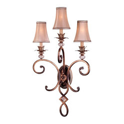 "Traditional Minka Aston Court 35 1/2"" High Candelabra Wall Sconce"