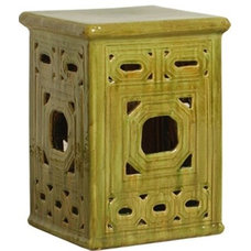 Traditional Ottomans And Cubes by The Southern Home