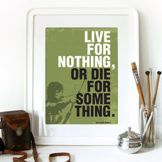 Movie RAMBO Quote Print Typography Art Poster in by PeanutoakPrint