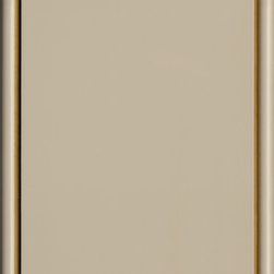 Dura Supreme Cabinetry Latte Paint with Brown Accent Finish - Dura Supreme Cabinetry color chip/ swatch in the Latte paint with the Brown accent finish.