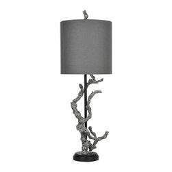 Crestview Collection - Crestview Collection CVAUP717 Twisted Branch Table Lamp - Crestview Collection CVAUP717 Twisted Branch Table Lamp