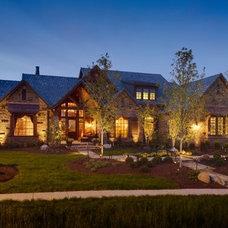 Traditional Exterior by B.L. Rieke Custom Home Builders