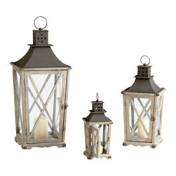 Cyan Design - Cyan Design Lighting 04723 Cornwall Lanterns - Cyan Design 04723 Cornwall Lanterns