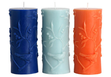asian candles and candle holders by Creative Home Decorations