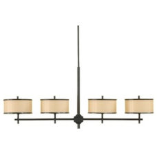 Kitchen Islands And Kitchen Carts Casual Luxury Linear Suspension by Murray Feiss