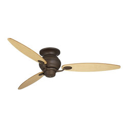 """Casa Vieja - Contemporary 60"""" Spyder Bronze Light Maple Blades Hugger Ceiling Fan - Clean and trim and a perfect match for a wide range of decor styles this Casa Vieja™ ceiling fan features an oil-rubbed bronze Casa Optima motor that will provide years of trouble-free use. Maple wood blades add classic warmth to this handsome design. Add this ceiling fan to your home for stunning style. Oil rubbed bronze fan motor finish. Hugger flushmount. Maple fan blades. 3-speed reversible motor. 14 degree blade pitch. 60"""" blade span.  Oil rubbed bronze fan motor finish.   Maple finish blades.   60"""" blade span.   14 degree blade pitch.   Hugger flushmount design.  3-speed reversible motor.   Fan height 8"""" ceiling to blade.   Fan height 11 1/2"""" ceiling to bottom of switch housing."""