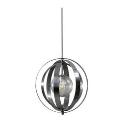 Uttermost 21938 Trofarello Silver Pendant - 19W in. Polished Nickel - About Uttermost The mission of the Uttermost Company is simple: to make great home accessories at reasonable prices. This has been their objective since founding their family-owned business over 30 years ago. Uttermost manufactures mirrors, art, metal wall art, lamps, accessories, clocks, and lighting fixtures in its Rocky Mount, Virginia, factories. They provide quality furnishings throughout the world from their state-of-the-art distribution center located on the West Coast of the United States.