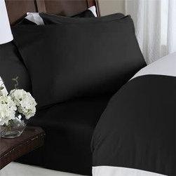 Amazon.com: ITALIAN 1000 Thread Count Egyptian Cotton Sheet Set DEEP POCKET, Kin -