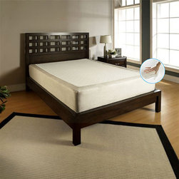 Slumber Solutions - Slumber Solutions Body Flex 11-inch Queen-size Memory Foam Mattress - Plush and perfect for that great night's sleep, this comfortable queen-size memory foam mattress is 11 inches deep for the best sleep you've ever had. With its memory foam construction, this mattress will keep you from tossing and turning all night.