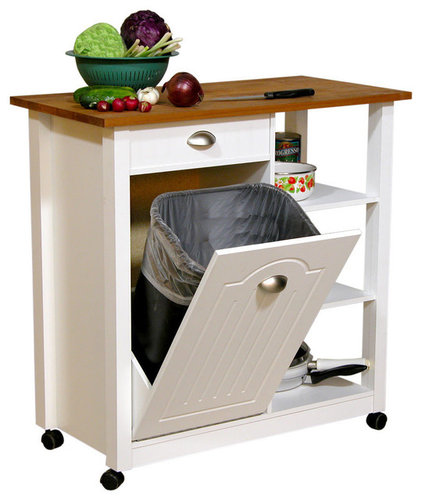 Contemporary Kitchen Trash Cans by Modern Furniture Warehouse