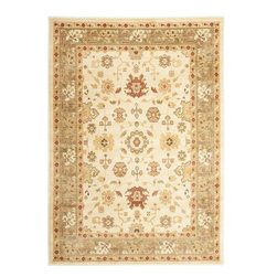 Safavieh - Heirloom Brown/Green Area Rug HLM1738-1152 - 8' x 11' - Safavieh's Heirloom collection offers the beauty and painstaking detail of traditional Persian and European styles with the ease of polypropylene. With a symphony of florals, vines and latticework detailing, these beautiful rugs bring warmth and life to any room.