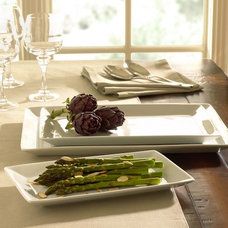 Modern Serving Dishes And Platters by Pottery Barn