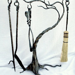 Fireplace tools and screens - https://www.etsy.com/listing/188456211/fireplace-tools-wind-swept-tree?ref=shop_home_feat_4