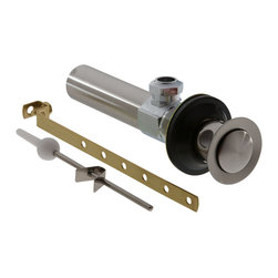 Delta Drain Assembly - Lavatory - Metal - Less Lift Rod and Knob - RP26533SS - Timeless design for today's homes