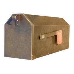 QualArc - QualArc Provincial Rural Mailbox - MB-1000-AB - Shop for Mailboxes and Accessories from Hayneedle.com! The QualArc Provincial Rural Mail Box bring a classic Old World look and modern day pop to any style of home it's paired with. Handcrafted one at a time from heavy gauge metals. Selection options for your preference of finish color in Antique Brass Antique Copper or Classic Black. Designed for post mount. Includes attached mail flag. Dimensions: 7.5W x 18D x 8.5H in. From the manufacturer:Note the brass mailboxes have a lacquer finish to help protect them. The copper mail boxes do not have a lacquer finish and will form a natural Patina over time. If you prefer a refined look choose the antique brass finish. Classic black works well in any setting. Finish protection: To help preserve the polished finishes we recommend a clear no-buff car wax. Clean the mailbox periodically with warm soapy water and a soft cloth - rinse and dry with a soft cloth. Then apply no-buff car wax. Polished brass finishes are not recommended for corrosive salt-air locations. About QualArcBased in Rancho Cordova California QualArc makes the things that mark your home. Using unique and beautiful weatherproof materials and industry-standard manufacturing processes they create address plaques mailboxes and more that are built to last. Stone aluminum steel granite and more come together to create high-quality markers with high curb appeal. It's easy for friends and family to find your house when it's marked with a QualArc product.