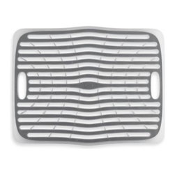 Oxo - OXO Good Grips Large Sink Mat - The OXO Good Grips Sink Mat protects against chipping or unsightly scratches on porcelain and stainless steel sinks.