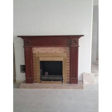 Marble Fireplace -