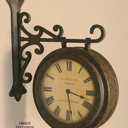 "6710 Maitland, Clock by Uttermost - Get 10% discount on your first order. Coupon code: ""houzz"". Order today."