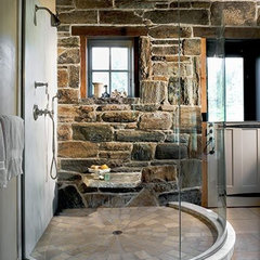 modern  Master Bath Shower