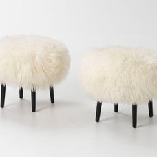 Modern Footstools And Ottomans by BARBARA SCHAVER DESIGNS