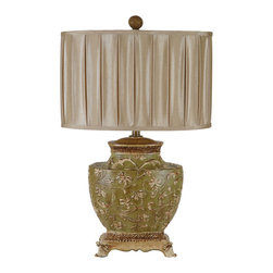 Crestview Collection - Crestview Collection CVATP919 Carlyle Table Lamp - Crestview Collection CVATP919 Carlyle Table Lamp
