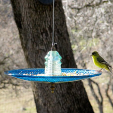 Eclectic Bird Baths by Railroadware