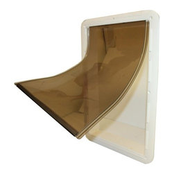 WOODSTREAM CORPORATION - 7112 Large Vinyl Dog Door - Features: